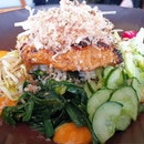 Bincho Grilled Salmon Salad | $29