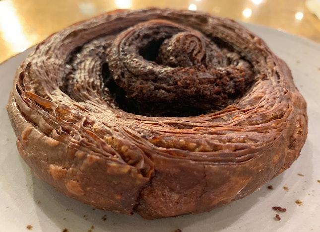 Chocolate Kouign-amann   $5.00