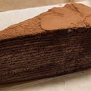 Chocolate Mille Crepe | $8.00
