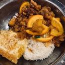 Orange Chicken Rice | $6.50