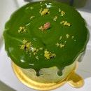 Matcha Petit Gâteau | $8.80