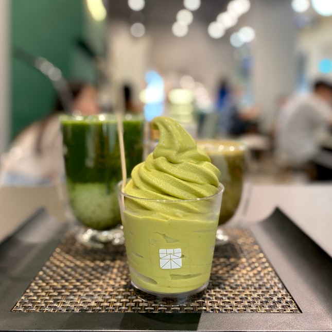 Genmaicha Soft Serve   $5.90