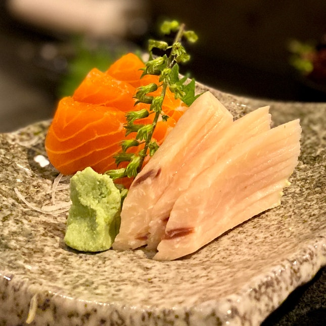 Mekajiki & Shake Sashimi | $24