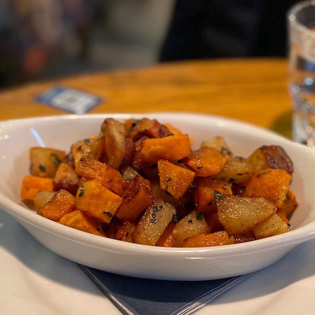 Sweet Potato Hash   $8