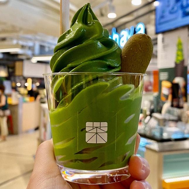 Ceremonial Koicha Soft Serve (Cup) | $8