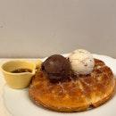 Ice Cream Waffle | $15