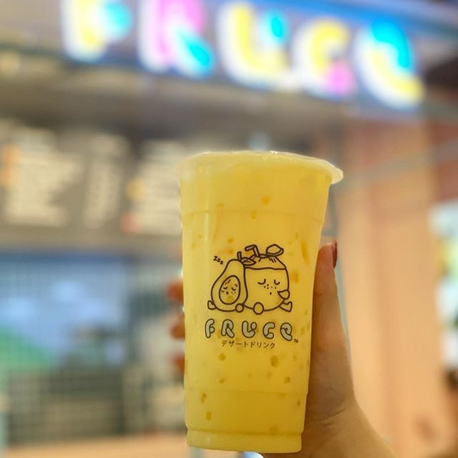 👣 Singapore - Since Fruce is currently renovating and I can't get any drinks from them, pictures will suffice 😂.