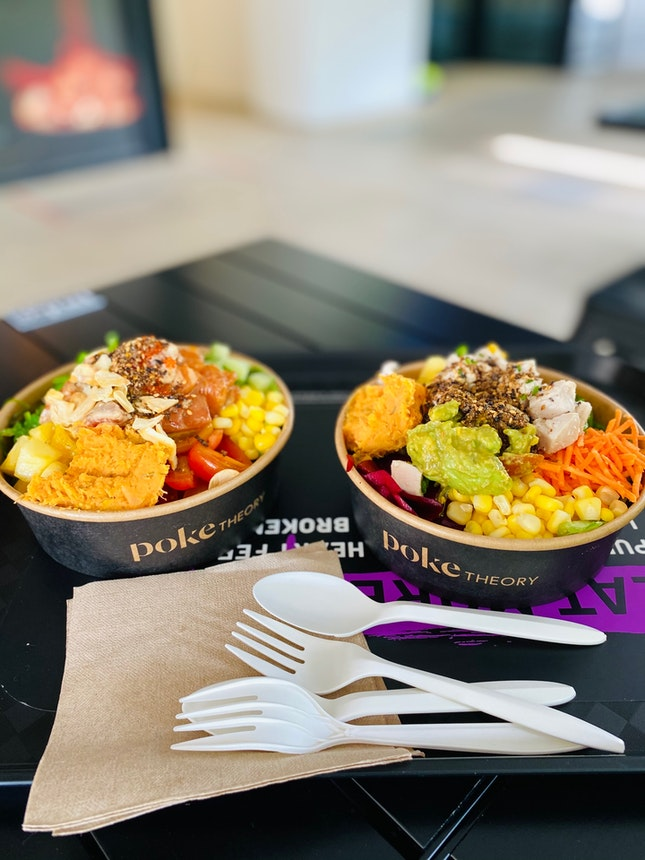 Colourful Poke Bowls (from $9.90+)