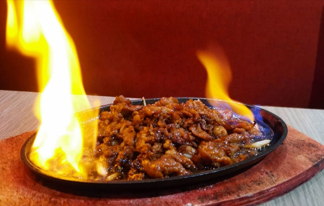 Flaming Kurobuta Pork With Danggui Sauce ($28++) (1 For 1 Beyond)