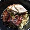 Nice charred siew wanton noodle