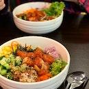 Shoyu Salmon Poke Bowl