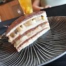 Chocolate Banana Crêpe Cake