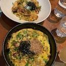 Porky Bowl & Seafood Aglio Olio