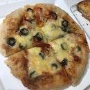 Pizza & Croissant