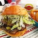 FatBurger's XXL burger || Novena Square, Singapore.