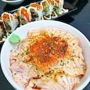 Mentai Salmon Don