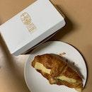 Roasted Mushroom & Brie Cheese Croissant