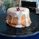 Strawberry Lychee Rose Cloud Cake