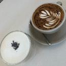 Lavender Tea Latte & Cappuccino