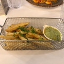 Fries + Pesto!!!