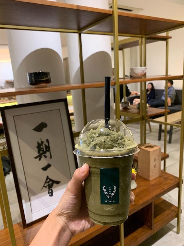 Match Hojicha Latte Ice Blend