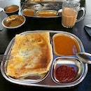 Starting 2020 right with the breakfast of champions: prata and teh tarik!