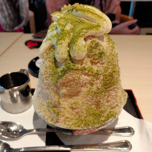 Shaved Ice After Onsen