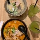 Tonkotsu Ramen & Spicy Roasted Miso Ramen