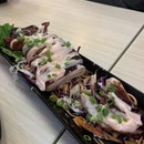 Thai Style Grilled Squid with Mentaiko ($18.80)
