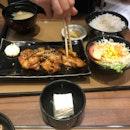 Teriyaki Chicken Teishoku ($13.9)