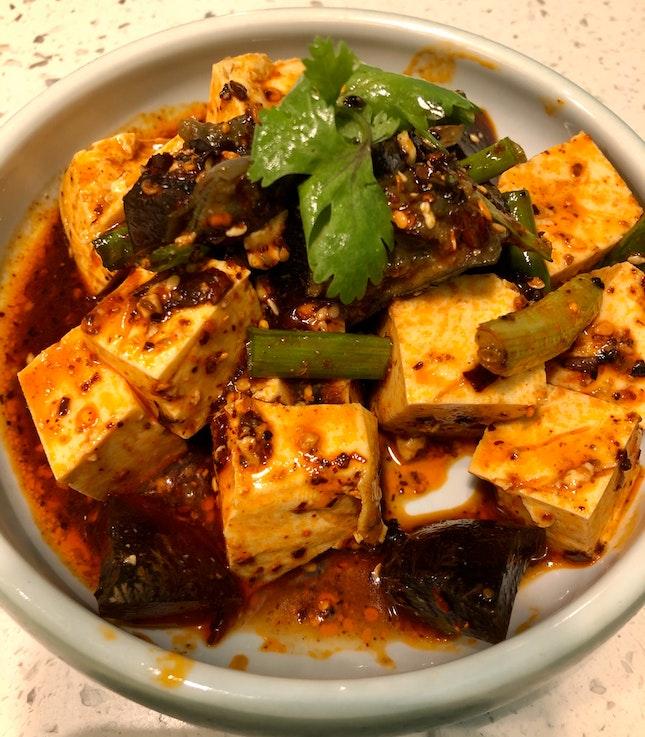 Tofu with Century Egg