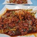 Beef Fried Hor Fen $4.5