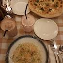 Quattro formaggi And Risotto