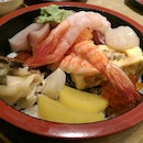 Assorted Seafood On Rice