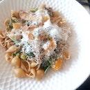 Mushroom & fennel sausage conchiglie 🍄🍝