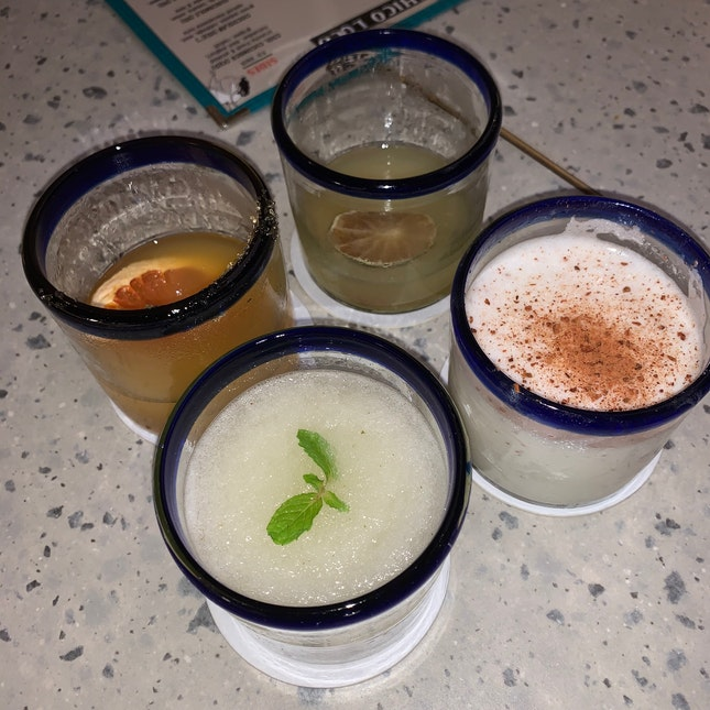 Spicy Mojito & Assortment Of Cocktails