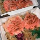 Mentaiko Salmon Truffle Rice Bowl