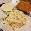 😃 Curry Chicken Biryani (S$8.40) at Prata Wala .