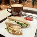 McCafe Chicken Mayo Sandwich