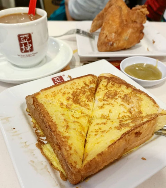 Smoked Cheese French Toast