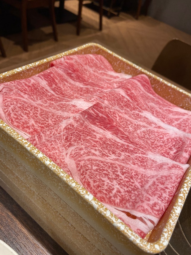 Awesome A5 wagyu