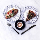 Brunch Situation : Tuna Croissant, Truffle Mushroom Quiche