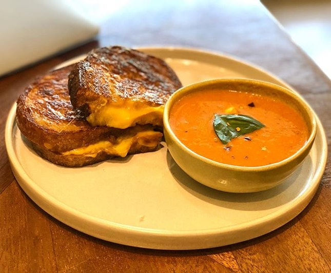 Behold, for this may be the best grilled cheese sandwich you can find in town!