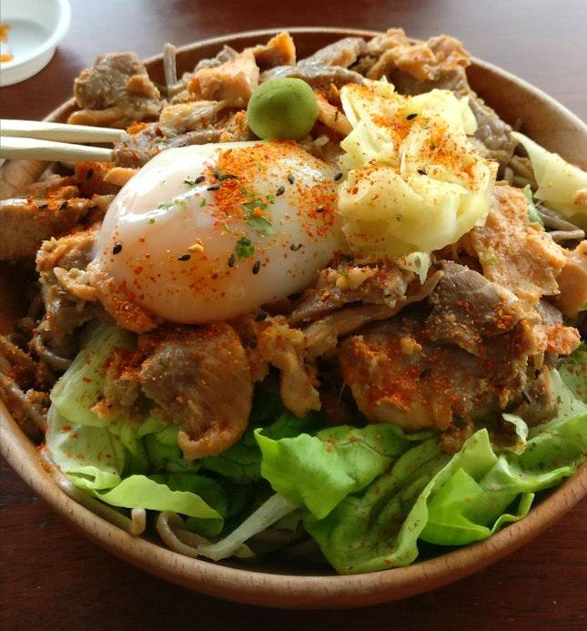 Garlic Shoyu Salmon