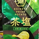 Matcha Tea Salt Chips (3.10sgd)