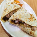 Quesadilla With Imperial Ginger Chicken (8.90sgd)