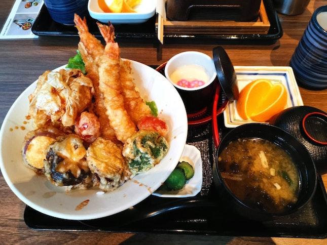 Tendon Lunch Set (18.80sgd)