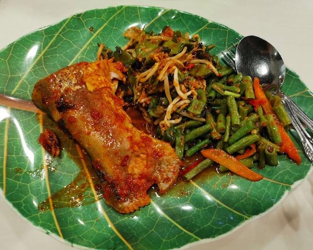 Nasi Padang (6sgd)