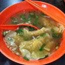 Shrimp Dumpling Soup (5sgd)