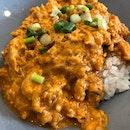 chilli crab rice bowl